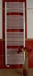 Thermal kúpeľňový radiátor typ KDO so šírkou 75 cm oblý biely