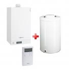 Viessmann VITODENS 100-W kondenzačný plynový kotol + zásobník 100/120 l + termostat