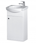 Vilan RIVA skrinka s umývadlom 40 cm biela