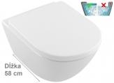 Villeroy & Boch SUBWAY 2.0 WC misa závesná Comfort DirectFlush