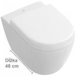 Villeroy & Boch SUBWAY 2.0 WC misa závesná Compact