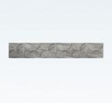 Villeroy & Boch TOWNHOUSE bordúra 10 x 60 cm matná antracit
