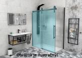 Gelco VOLCANO bočná sprchová stena 80-90-100 cm chróm
