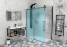 Gelco VOLCANO BLACK bočná sprchová stena 80-90-100 cm čierne