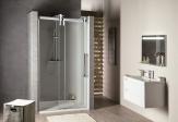 Gelco VOLCANO sprchové dvere 120-140-180 cm, chróm