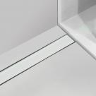 Alcaplast MI1200 650 - 1150 rošt zo syntetického kameňa biely 70 - 120 cm