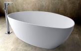 WhiteStone voľne stojaca vaňa 170 cm biela lesklá