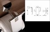 Nimco PALLAS ATHÉNA držiak na toaletný papier s krytom PA 12055B-26