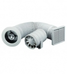Zehnder SILENT 100 ventilátor kúpeľňový s časovačom a osvetlením do sprchového kúta