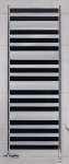 Zehnder ZETA kúpeľňový radiátor 60 cm chróm