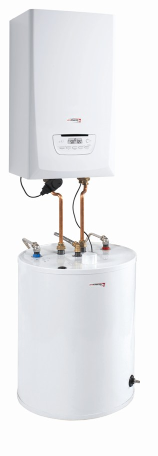 Protherm Aqua Complet PANTHER CONDENS zostava 25 KKO (plynový kotol) + B120S (zásobník)